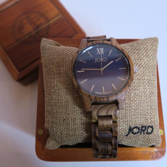 JORD Frankie Wooden Wrist Watch